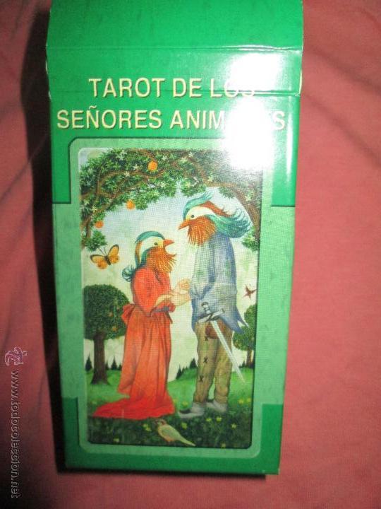 Barajas de cartas: tarot DE LOS SEÑORES ANIMALES - lo scarabeo - italia. en caja precintado - 78 cartas - Foto 2 - 47382847