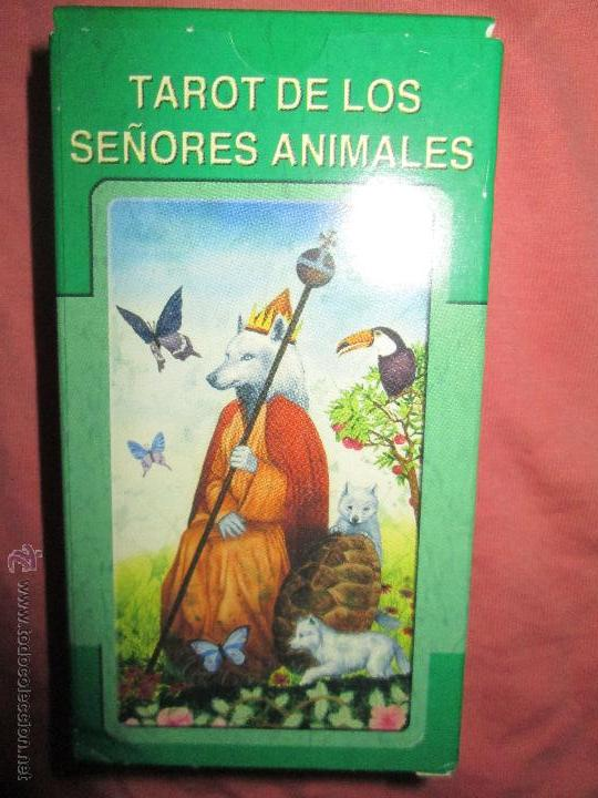 Barajas de cartas: tarot DE LOS SEÑORES ANIMALES - lo scarabeo - italia. en caja precintado - 78 cartas - Foto 3 - 47382847