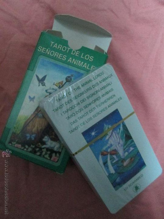 Barajas de cartas: tarot DE LOS SEÑORES ANIMALES - lo scarabeo - italia. en caja precintado - 78 cartas - Foto 4 - 47382847