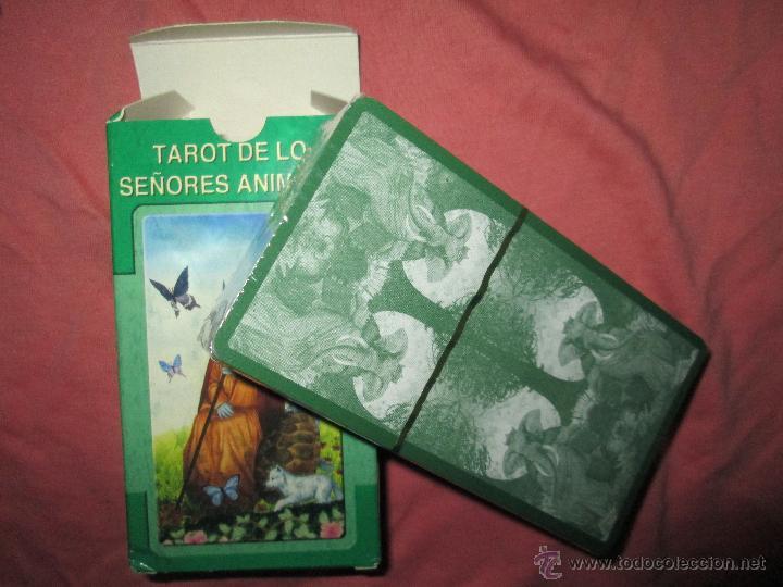 Barajas de cartas: tarot DE LOS SEÑORES ANIMALES - lo scarabeo - italia. en caja precintado - 78 cartas - Foto 5 - 47382847