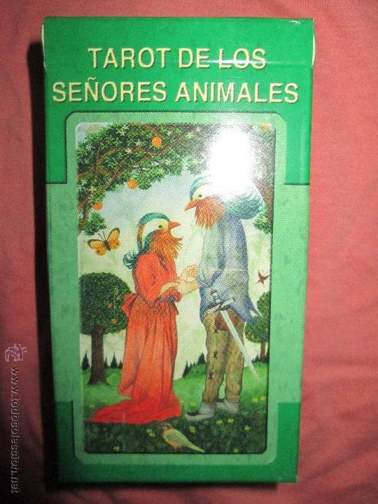 Barajas de cartas: tarot DE LOS SEÑORES ANIMALES - lo scarabeo - italia. en caja precintado - 78 cartas - Foto 7 - 47382847