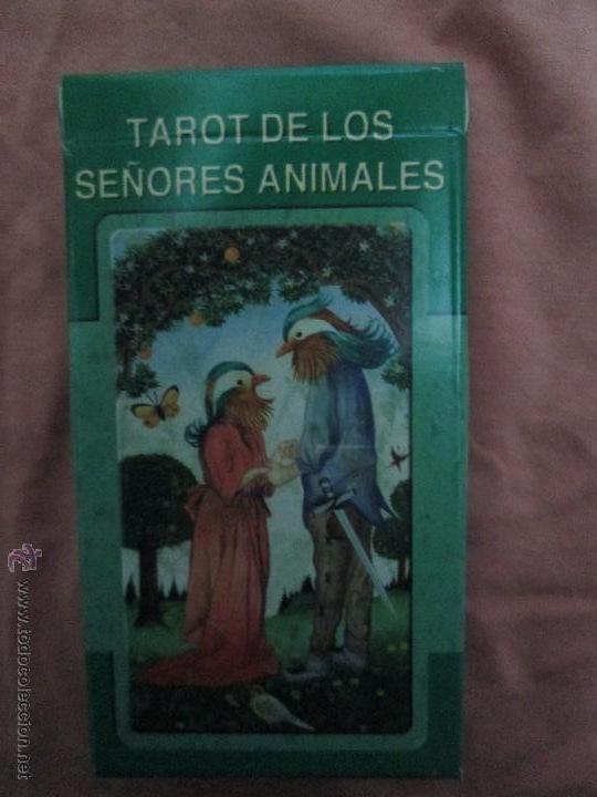 Barajas de cartas: tarot DE LOS SEÑORES ANIMALES - lo scarabeo - italia. en caja precintado - 78 cartas - Foto 8 - 47382847