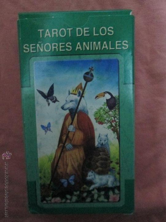 Barajas de cartas: tarot DE LOS SEÑORES ANIMALES - lo scarabeo - italia. en caja precintado - 78 cartas - Foto 9 - 47382847