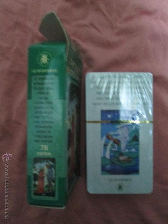 Barajas de cartas: tarot DE LOS SEÑORES ANIMALES - lo scarabeo - italia. en caja precintado - 78 cartas - Foto 10 - 47382847