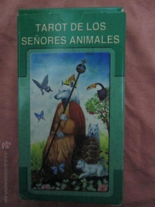 Barajas de cartas: tarot DE LOS SEÑORES ANIMALES - lo scarabeo - italia. en caja precintado - 78 cartas - Foto 11 - 47382847