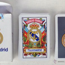 Barajas de cartas: BARAJA DE CARTAS FOURNIER REAL MADRID. Lote 47387982