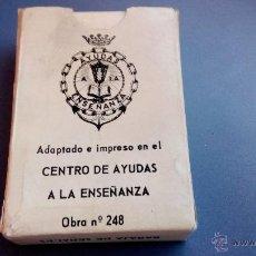 Barajas de cartas: BARAJA DE CARTAS ANTIGUA BARAJA DE SEÑALES JEFATURA DE INSTRUCCION MINISTERIO DE MARINA. Lote 47411212