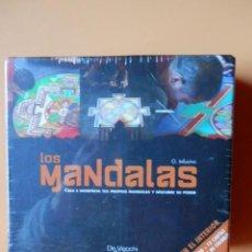 Barajas de cartas: LOS MANDALAS. CREA E INTERPRETA TUS PROPIOS MANDALAS Y DESCUBRE SU PODER - GIAMPAOLO INFUSINO. Lote 47443292