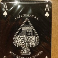 Barajas de cartas: BARAJA PÓKER-BLACK - VARITEMAS. PRECINTADA / SIN CAJA. Lote 116933047