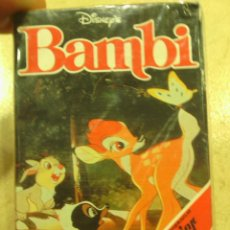 Barajas de cartas: BARAJA CARTAS COMPLETA -BAMBI-. Lote 47520609