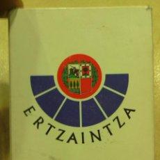 Barajas de cartas - BARAJA CARTAS COMPLETA -ERTZAINTZA- - 47522093