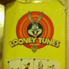 Barajas de cartas: BARAJA CARTAS COMPLETA -LOONEY TUNES-. Lote 47523184
