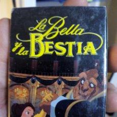Barajas de cartas: BARAJA CARTAS COMPLETA -LA BELLA Y LA BESTIA-. Lote 47523643