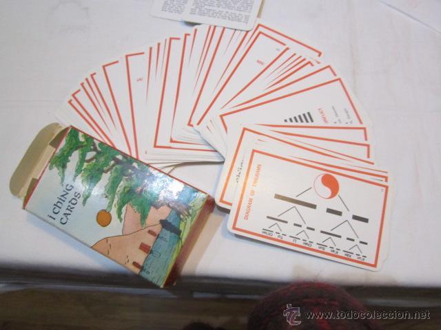 BARAJA DE CARTAS I CHING. ORÁCULO CHINO. TEXTOS EN INGLÉS. (Juguetes y Juegos - Cartas y Naipes - Barajas Tarot)