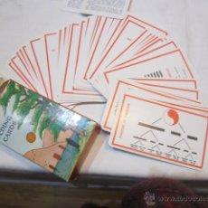 Barajas de cartas: BARAJA DE CARTAS I CHING. ORÁCULO CHINO. TEXTOS EN INGLÉS.. Lote 103278464