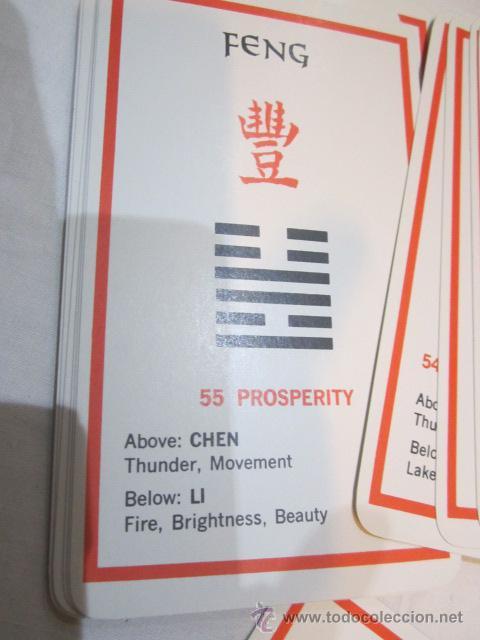 Barajas de cartas: Baraja de cartas I Ching. Oráculo chino. Textos en inglés. - Foto 5 - 103278464