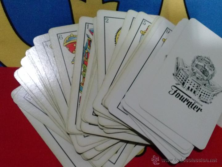 Barajas de cartas: BARAJA DE CARTAS FOURNIER COMPLETA CON LOGOS JUEGOS RIMA - Foto 2 - 47597821