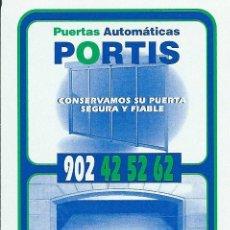 Barajas de cartas: BARAJA ESPAÑOLA PUBLICITARIA PUERTAS PORTIS-FOURNIER. Lote 47621591