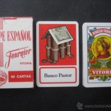 Barajas de cartas: BANCO PASTOR. BARAJA FOURNIER. Lote 47635142
