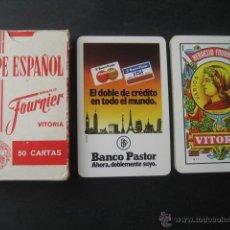 Barajas de cartas: BANCO PASTOR. BARAJA FOURNIER. Lote 47635155