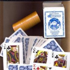 Barajas de cartas: JUE 1 - BARAJA ORIGINAL DE EL JUEVES POQUER EL JUEVES EDICIÓN ESPECIAL CON FICHAS DE TANTEOS Y A. Lote 47666822