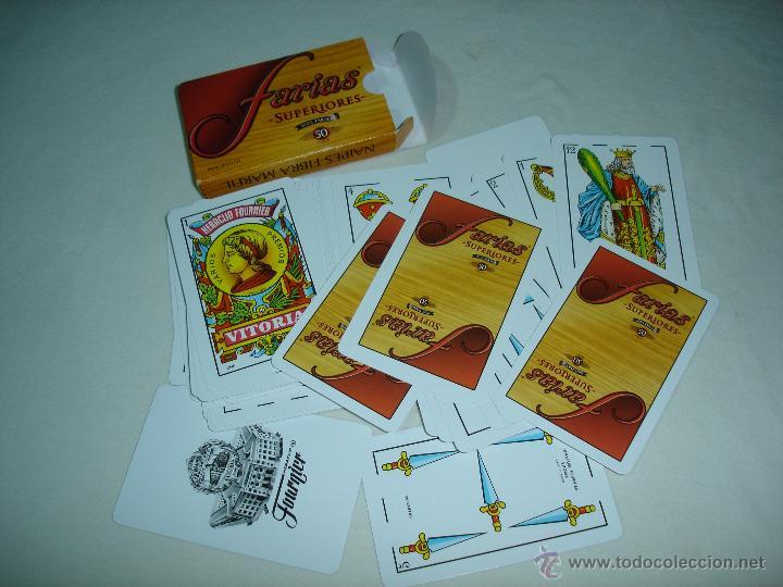 Barajas de cartas: BARAJA CARTAS, HERACLIO FOURNIER - FARIAS. 50 NAIPES. - Foto 2 - 47721870