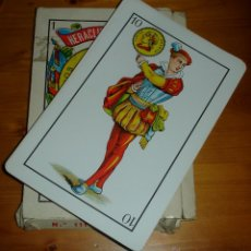 Barajas de cartas: BARAJA CARTAS ANTIGUAS HERACLIO FOURNIER N. 111 GIGANTES. Lote 47768905