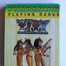 Barajas de cartas: BARAJA EGIPTO PHARAONIC PLAYING CARDS 52 NAIPES POKER. Lote 47819336