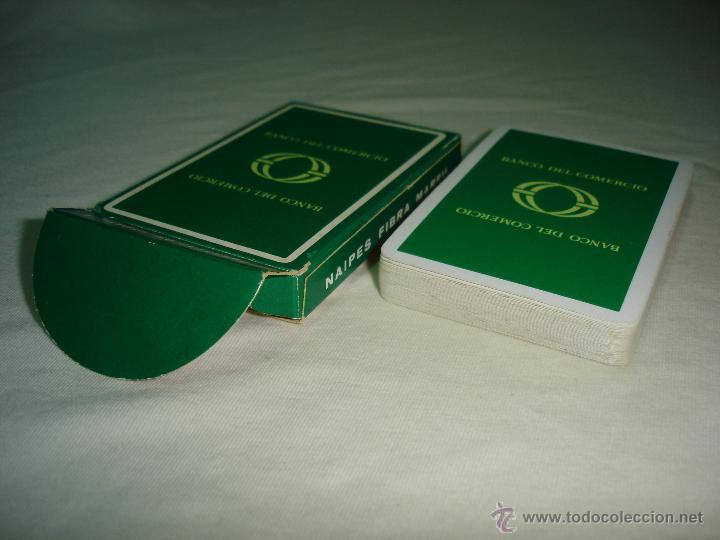 Barajas de cartas: BARAJA CARTAS, HERACLIO FOURNIER - BANCO DEL COMERCIO. 40 NAIPES. - Foto 4 - 47822996