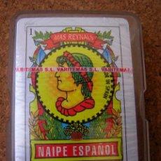 Barajas de cartas: MAS REYNALS / NAIPE ESPAÑOL / PRECINTADA. Lote 47829238