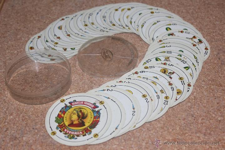 CARTAS BARAJA HERACLIO FOURNIER CIRCULAR (Juguetes y Juegos - Cartas y Naipes - Otras Barajas)