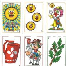 Barajas de cartas: BARAJA ESPAÑOLA DE LOS PAYASOS. Lote 180894002
