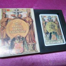 Barajas de cartas: BARAJA IBEROAMERICANA SIGLOS XV -XVI FOURNIER. Lote 47855457