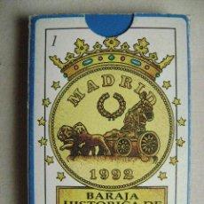 Baralhos de cartas: BARAJA HISTORICA DE MADRID.N-110J. Lote 47940399