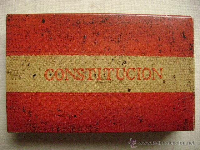 Barajas de cartas: BARAJA DE LA CONSTITUCION.N-111 - Foto 2 - 123307151