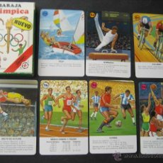 Barajas de cartas: BARAJA OLIMPICA, OLIMPIADAS. BARAJA FOURNIER 1988. Lote 48006072