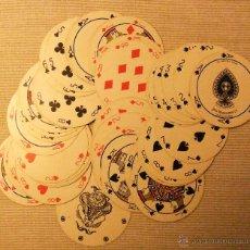 Barajas de cartas: ANTIGUA BARAJA DE NAIPES REDONDA DE JOHN WADDINGTON LTD. LEEDS & LONDON. Lote 48051956