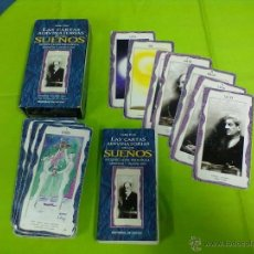 Barajas de cartas: LAURA TUAN LAS CARTAS ADIVINATORIAS DE LOS SUEÑOS DE VECCHI 2003. Lote 48096890