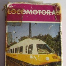 Barajas de cartas: NAIPES, BARAJA DE CARTAS LOCOMOTORAS MODERNAS, 33 CARTAS, DE HERACLIO FOURNIER, HF. CC. Lote 48171355