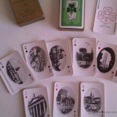 Barajas de cartas: ANTIGUA BARAJA DE CARTAS DE 52 VISTAS DE IRLANDA SE VENDIAS EN LOS AÑOS 60 COMO SOUVENIR. Lote 48235858