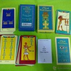 Barajas de cartas: EL TAROT DE LOS DIOSES EGIPCIOS EDAF 2000. Lote 48320172