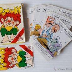 Barajas de cartas: PUMUKI. BARAJA DE CARTAS INFANTILES. JUEGO COMPLETO. FOURNIER, 1984. Lote 48333788