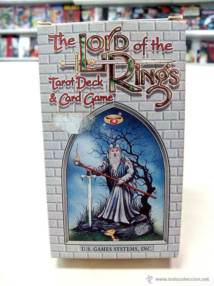 THE LORD OF THE RINGS TAROT DECK & CARD GAME - 78 CARTAS (U.S. GAMES SYSTEMS) (Juguetes y Juegos - Cartas y Naipes - Barajas Tarot)
