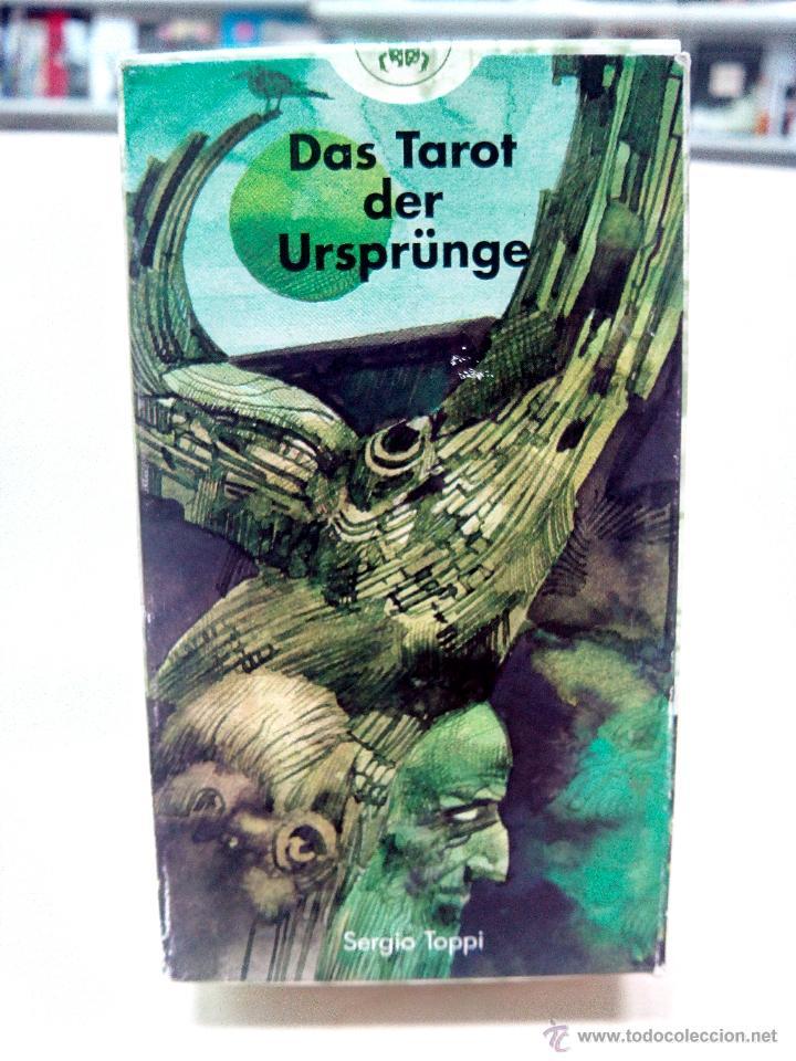 SERGIO TOPPI DAS TAROT DER URSPRÜNGE - 78 CARTAS EN ALEMÁN (LO SCARABEO) (Juguetes y Juegos - Cartas y Naipes - Barajas Tarot)