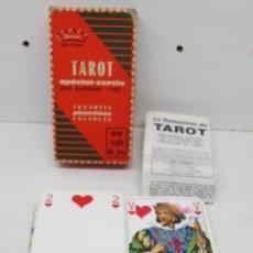 Barajas de cartas: BARAJA TAROT SPECIAL-CERCLE, GRIMAUD/DUCALE AÑOS 80. Lote 48433436
