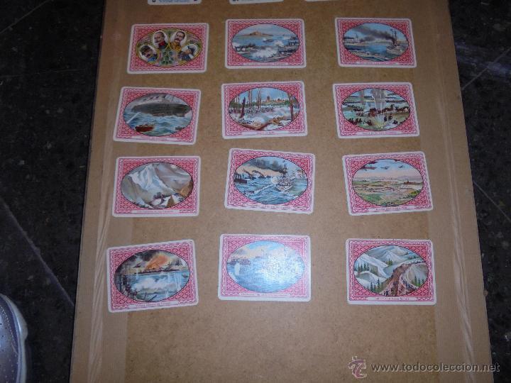 Barajas de cartas: ANTIGUA BARAJA 1ª GUERRA MUNDIAL 48 CARTAS CHOCOLATE ANGELICAL BARCELONA - SIMEON DURÁ VALENCIA - Foto 6 - 48436756