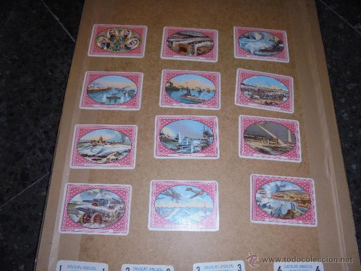 Barajas de cartas: ANTIGUA BARAJA 1ª GUERRA MUNDIAL 48 CARTAS CHOCOLATE ANGELICAL BARCELONA - SIMEON DURÁ VALENCIA - Foto 9 - 48436756