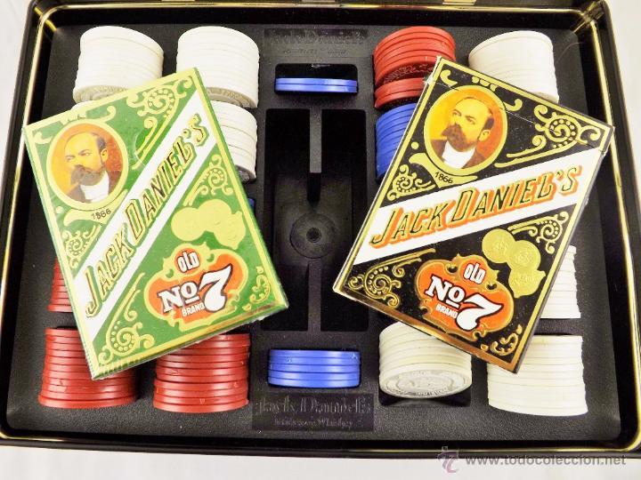 Barajas de cartas: Jack Daniels juego de poker made in USA - Foto 4 - 48511699
