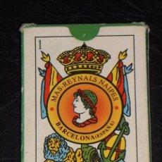 Barajas de cartas: MAS REYNALS – 50 NAIPES BARAJA ESPAÑOLA. Lote 48560532