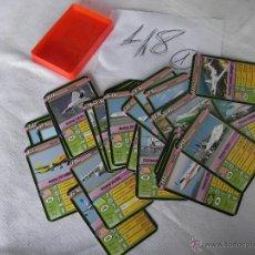 Barajas de cartas: ANTGUO LOTE DE CARTAS DE AVIONES - ENVIO GRATIS A ESPAÑA. Lote 48577514